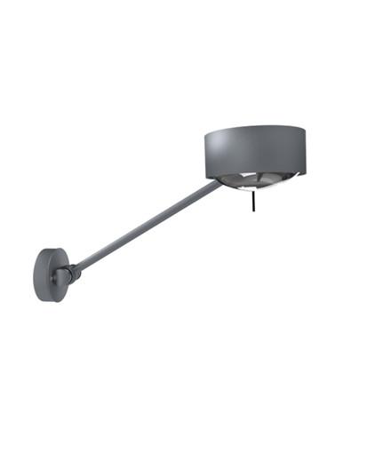 Puk Maxx Wing Single Væglampe Mat Krom - Top Light