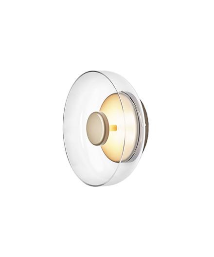 Blossi Væglampe/Loftlampe Nordic Gold/Clear - Nuura
