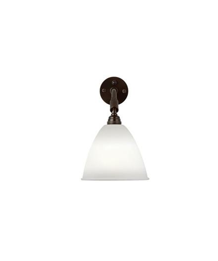 BL7 Vegglampe Ø16 Svart Messing/Porselen - GUBI