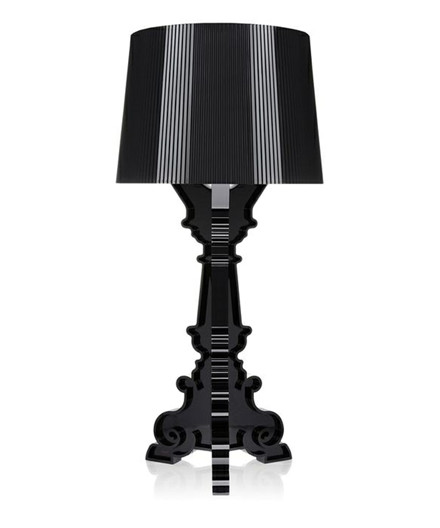 Bourgie Bordlampe Sort - Kartell