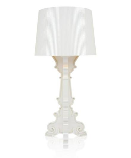Bourgie Bordlampe Hvit/Gull - Kartell