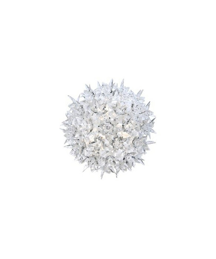 Bloom CW2 Væglampe/Loftlampe Crystal - Kartell