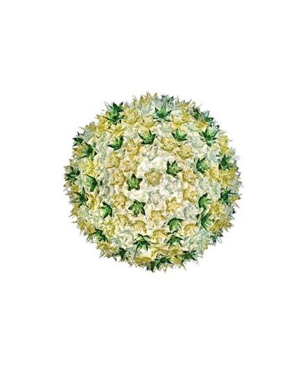Bloom C1 Wandleuchte/Deckenleuchte Minze - Kartell