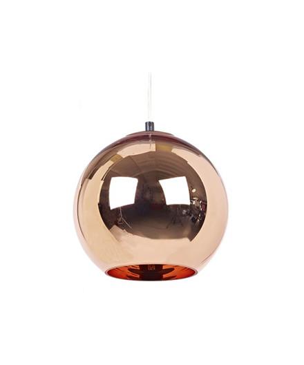 Copper Round Pendel Ø25 - Tom Dixon