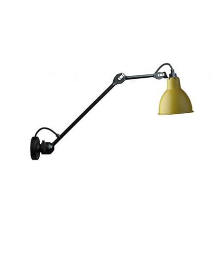 304L40 Vegglampe Gul - Lampe Gras