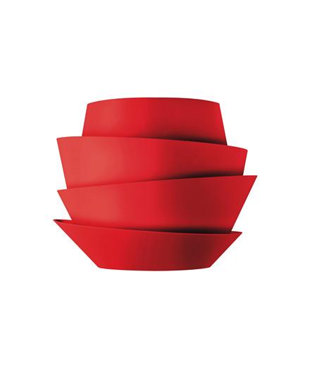 Le Soleil Röd Vägglampa Foscarini