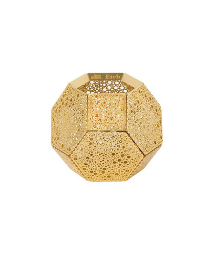 Etch Tea Light Holder Guld - Tom Dixon