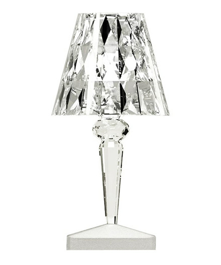 Battery Bordslampa Kristall - Kartell