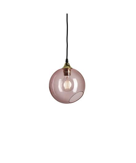 Ballroom Pendel Pink m/Guld Sokkel - Design By Us