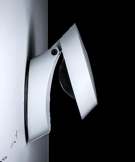 Pin-Up LED Vägglampa Vit - Studio Italia
