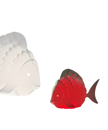 Mini Zoolight Fisk Bordlampe - Intermezzo