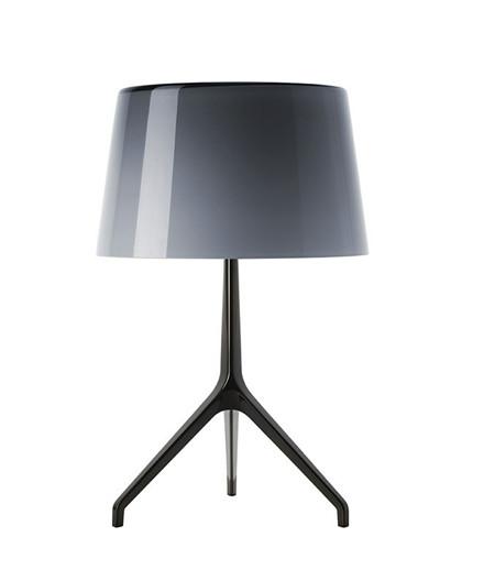 Lumiere XXS Bordlampe Sort Krom/Grå - Fosccarini