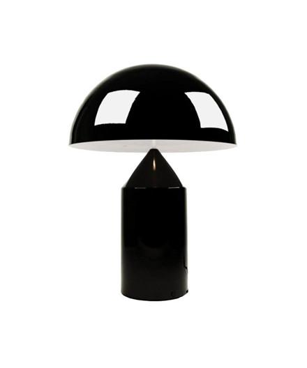 Atollo Bordlampe Medium Sort - Oluce