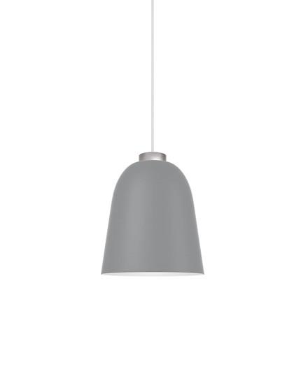 Summera Pendel Medium Mat Mørk Grå/Sølv - Shapes