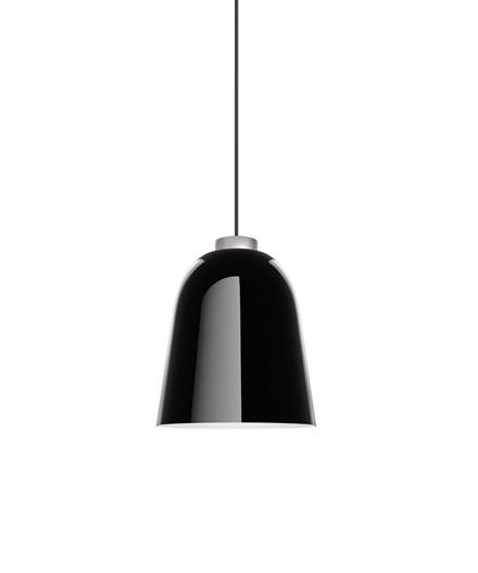 Summera Pendel Medium Blank Sort/Sølv - Shapes
