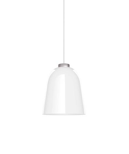 Summera Pendel Medium Blank Hvid/Sølv - Shapes