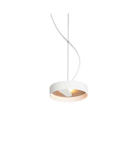 Lipps S 200 Pendelleuchte Weiß + Quarz - Trizo21