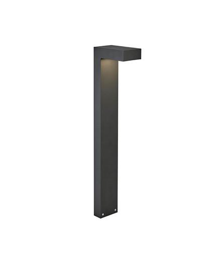 Asker LED Utendørs Pullert Grafitt - Norlys