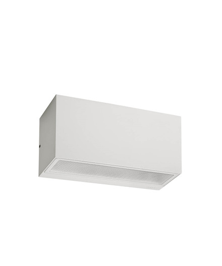 Asker E27 Utendørs Vegglampe Hvit - Norlys