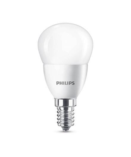 Pære LED 5,5W Plast Krone (470lm) E14 - Philips