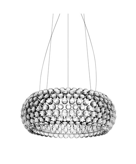 Caboche Medium Taklampa Transparent - Foscarini