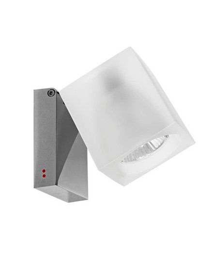 Ice Cube Classic Vegglampe/Taklampe Frostet - Fabbian