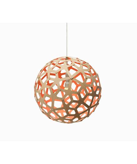Coral Orange Pendelleuchte - David Trubridge