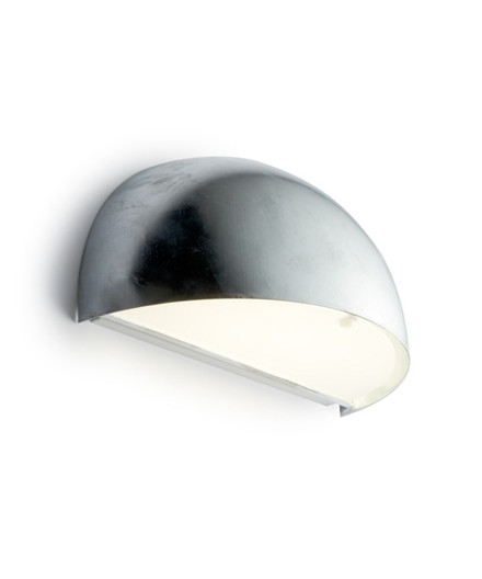 Rørhat Væglampe 2x9W G23 Galvaniseret - LIGHT-POINT