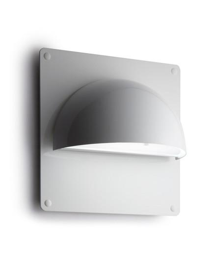 Rørhat Bagplade XL 30X30cm Hvid - LIGHT-POINT
