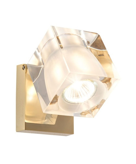 Ice Cube Classic Vegglampe/Taklampe Messing - Fabbian