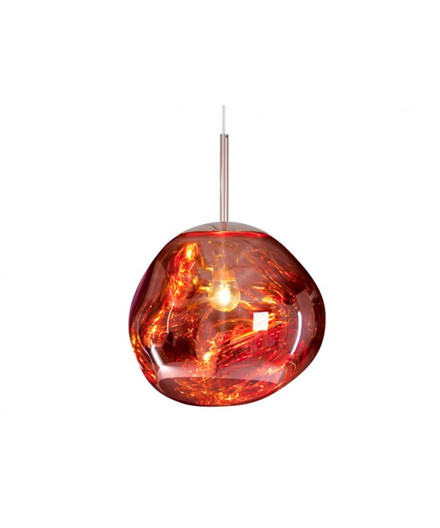 Melt Mini Taklampa Koppar - Tom Dixon
