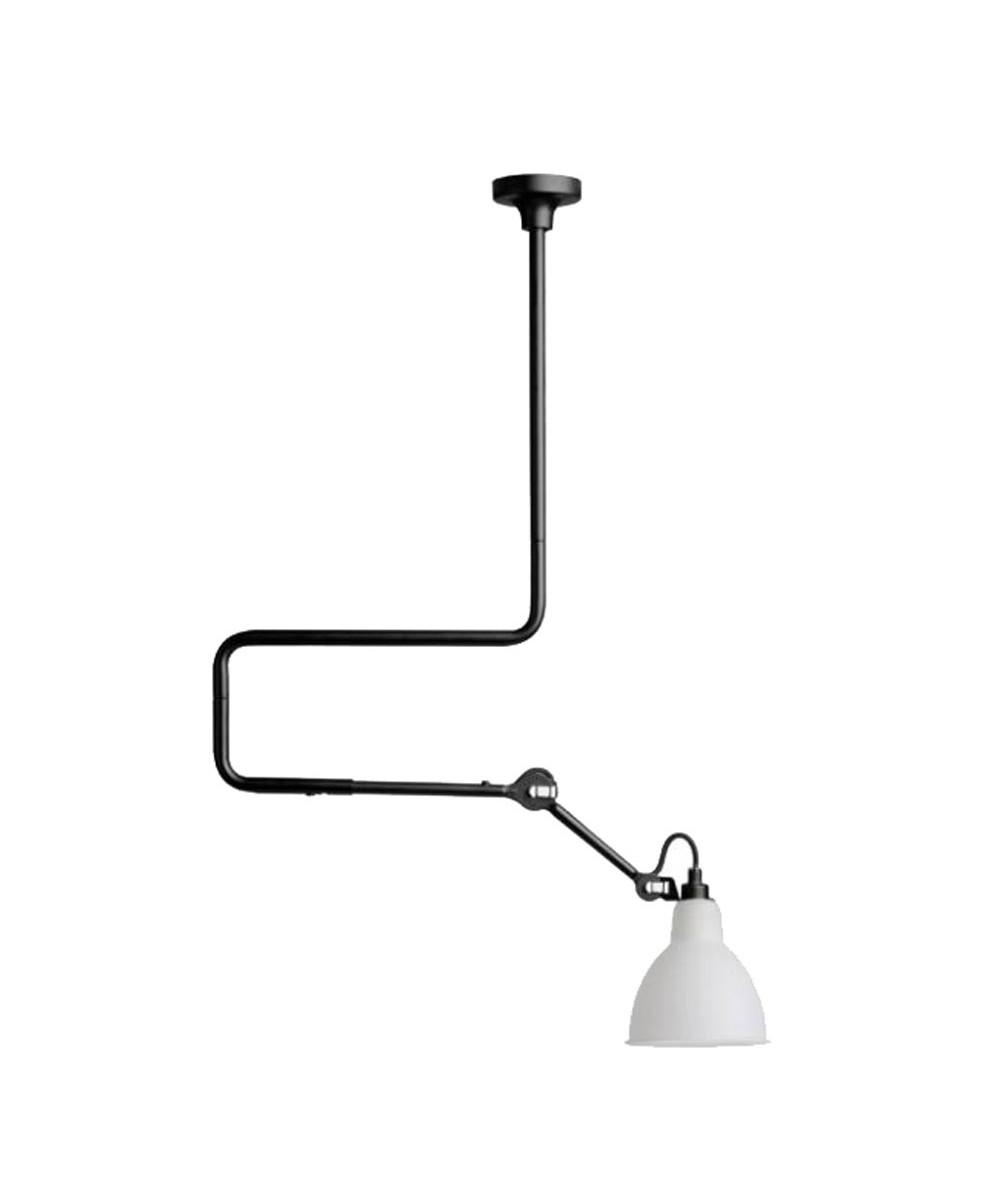 312 deckenleuchte schwarz glas lampe gras. Black Bedroom Furniture Sets. Home Design Ideas