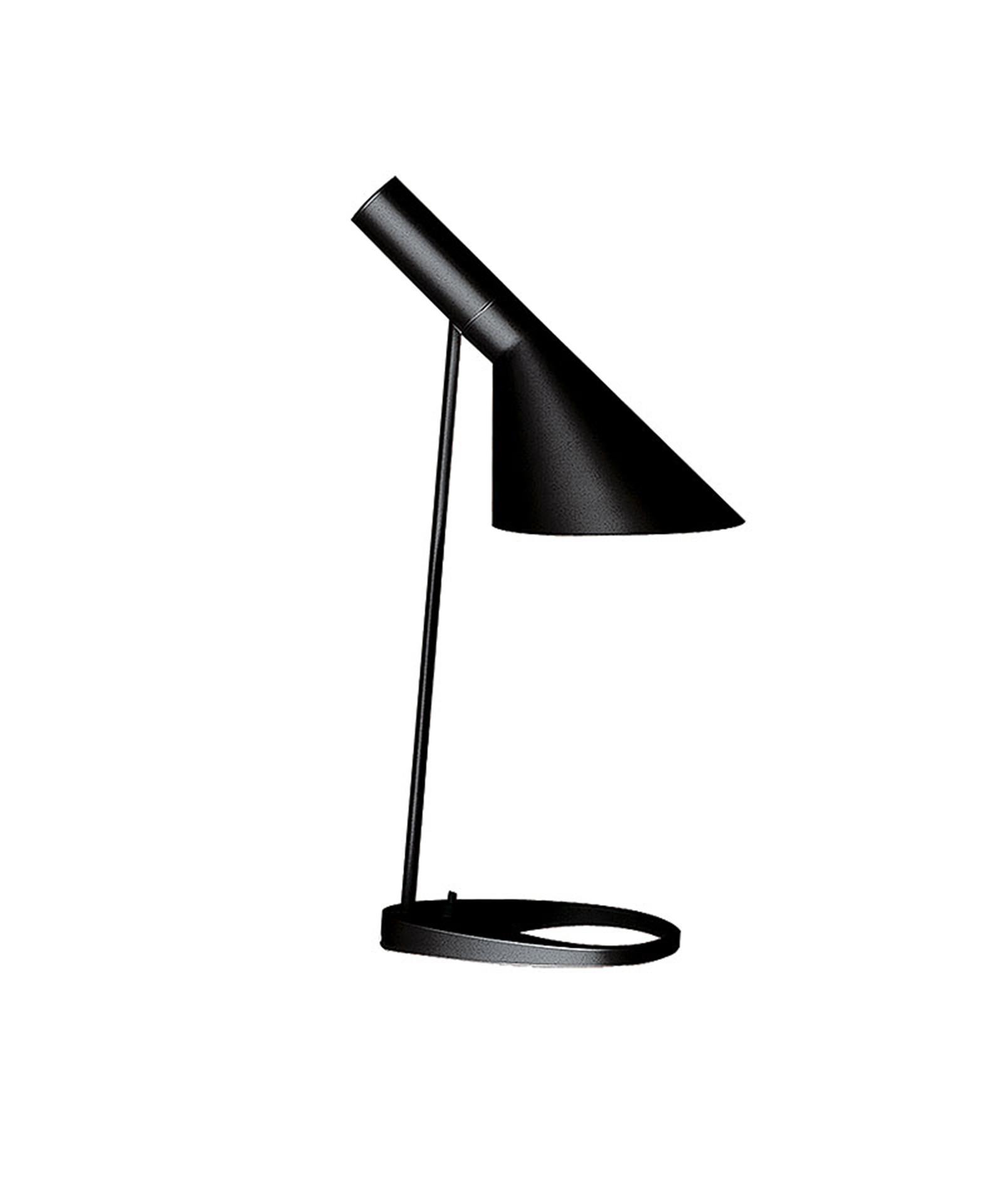 aj bord sort louis poulsen. Black Bedroom Furniture Sets. Home Design Ideas
