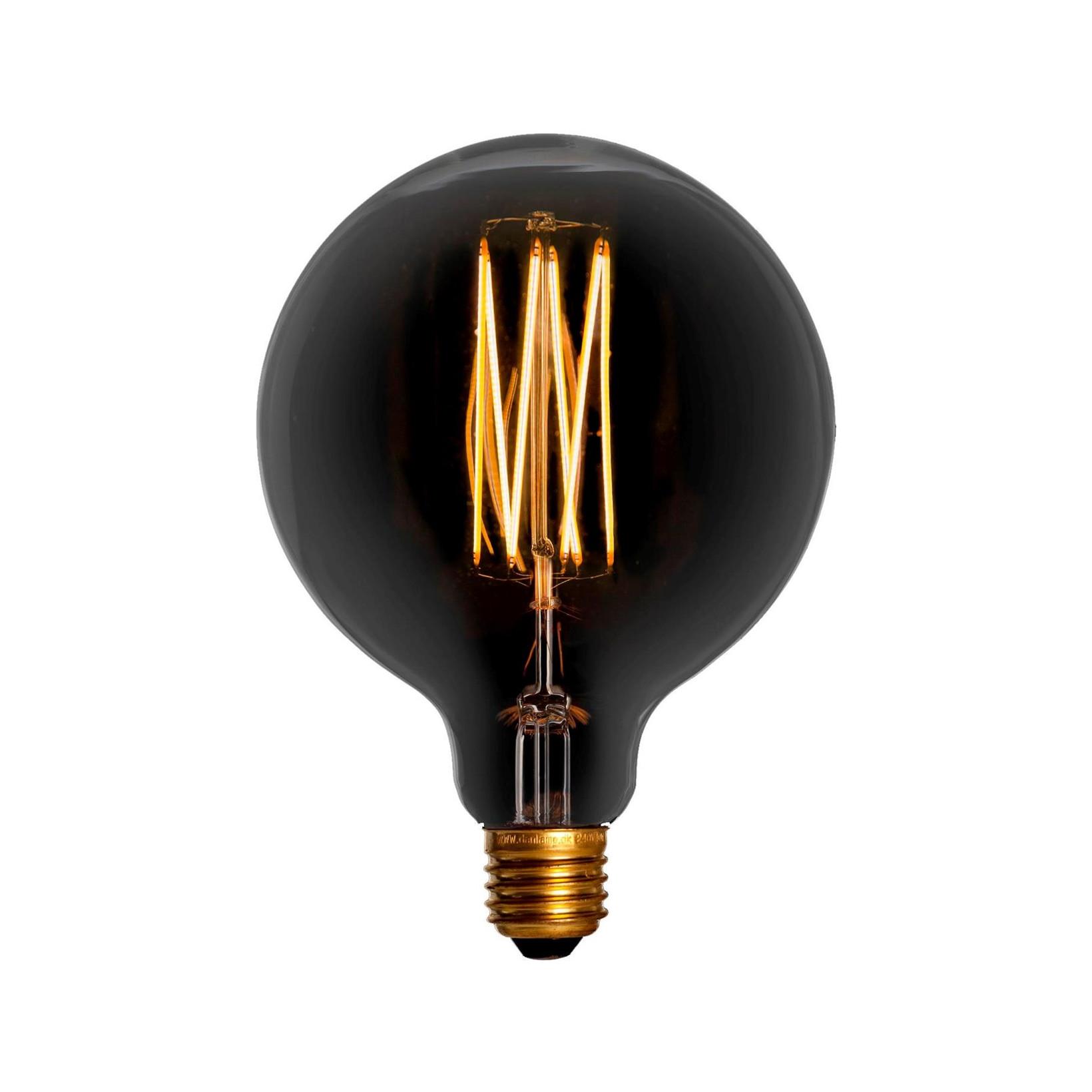 Image of   Pære LED 2,5W (150lm) Ø125 Mega Edison Smoke Dæmpbar E27 - GN