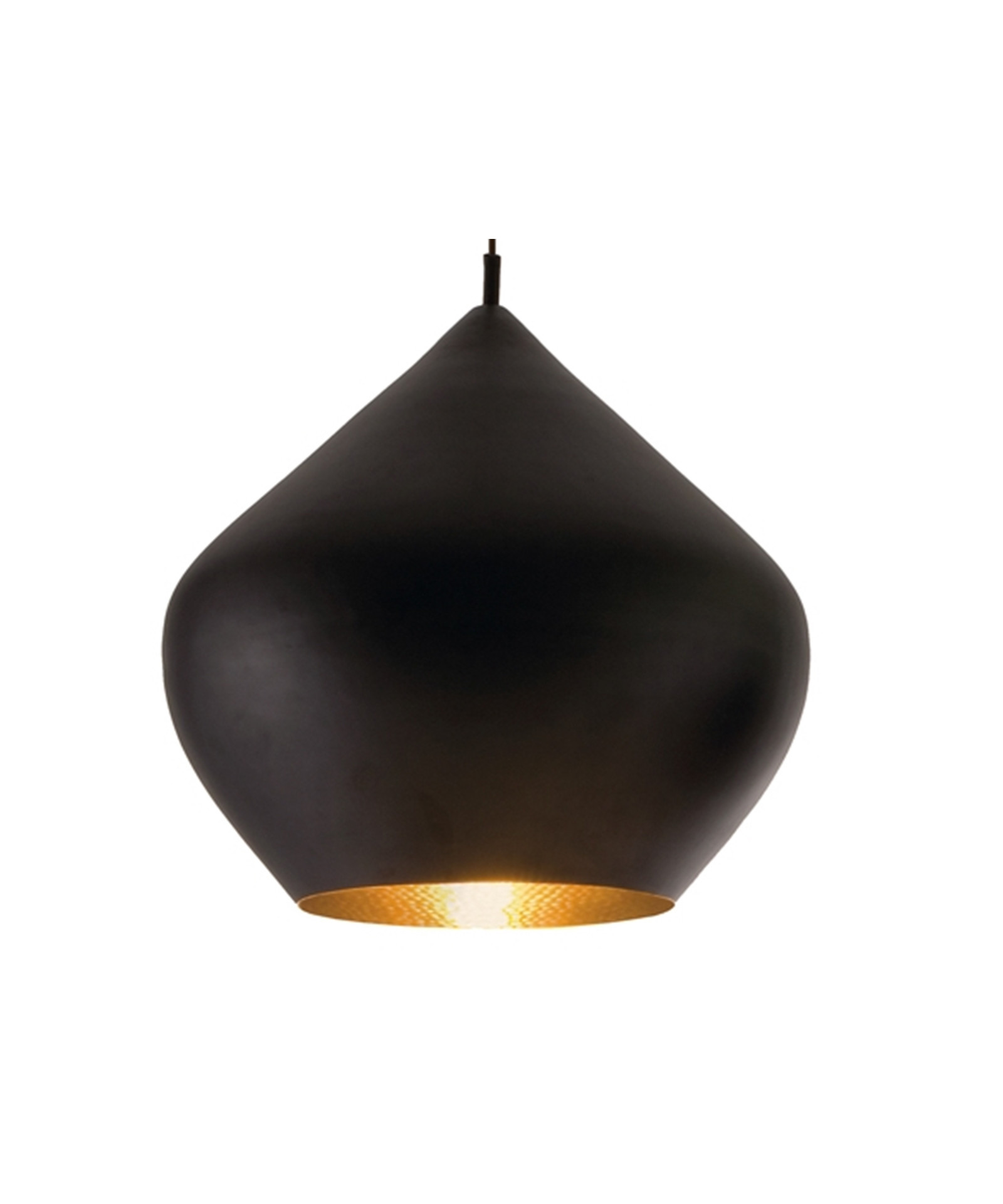 Beat Light Stout Pendel Sort - Tom Dixon