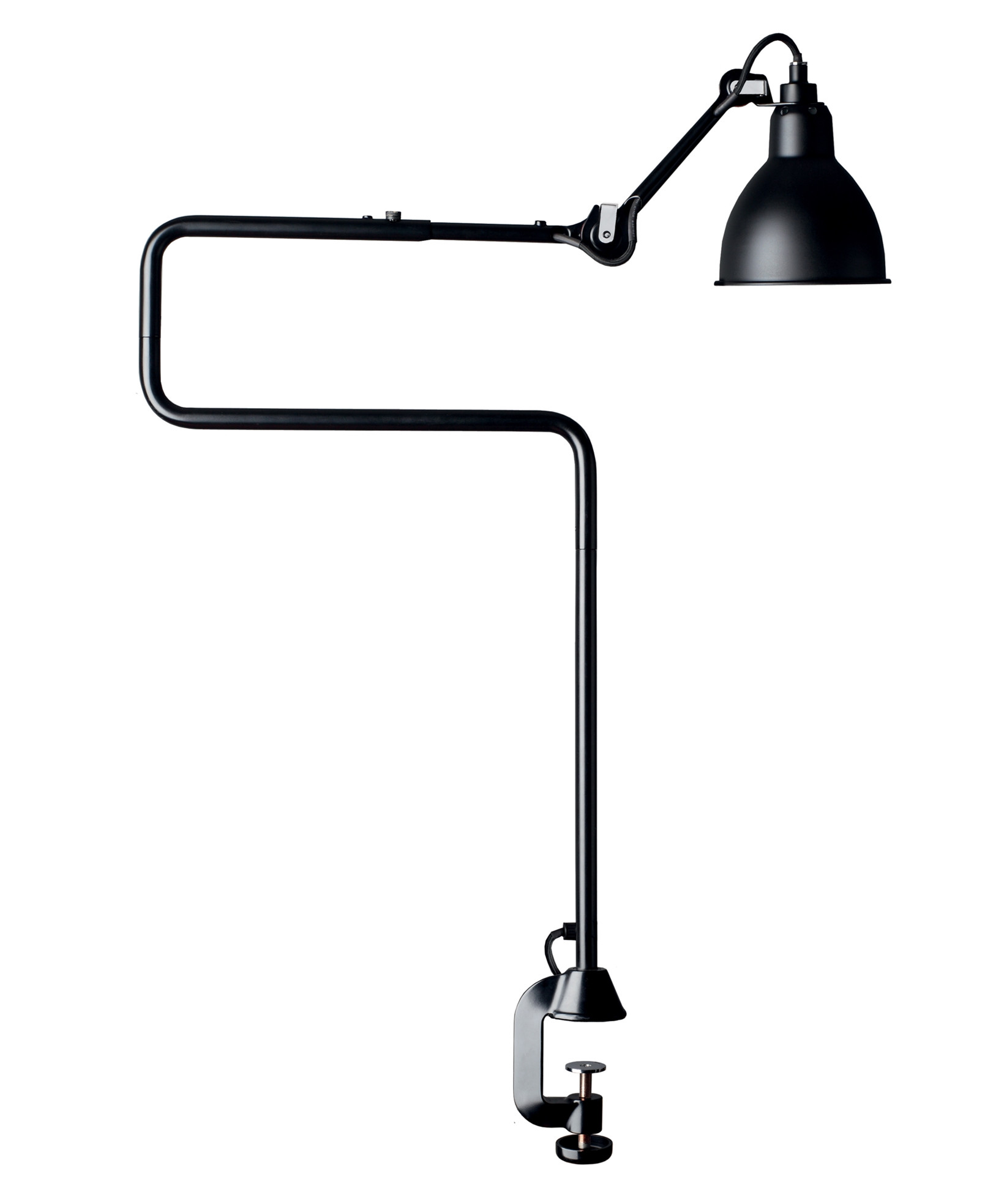 Image of   211-311 Bordlampe Sort - Lampe Gras