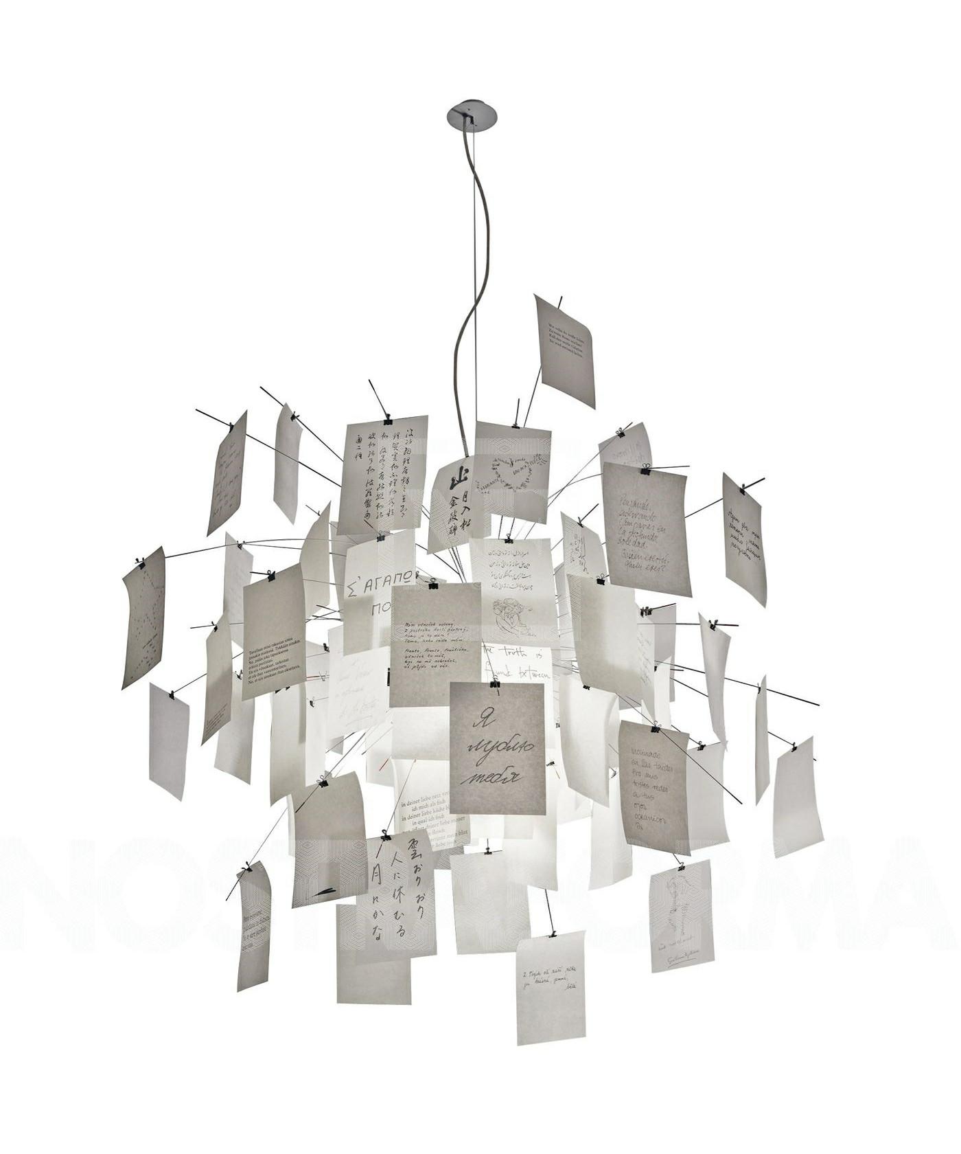 Zettelz lampe 5 Pendel - Ingo Maurer