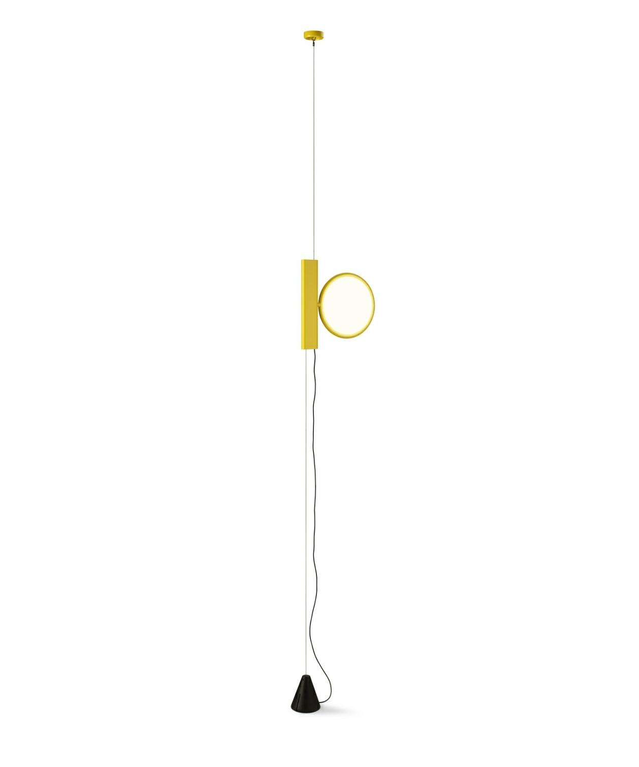 ok pendel gul flos. Black Bedroom Furniture Sets. Home Design Ideas