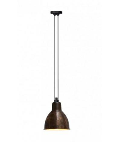 322 xl pendelleuchte rund roh kupfer wei lampe gras. Black Bedroom Furniture Sets. Home Design Ideas