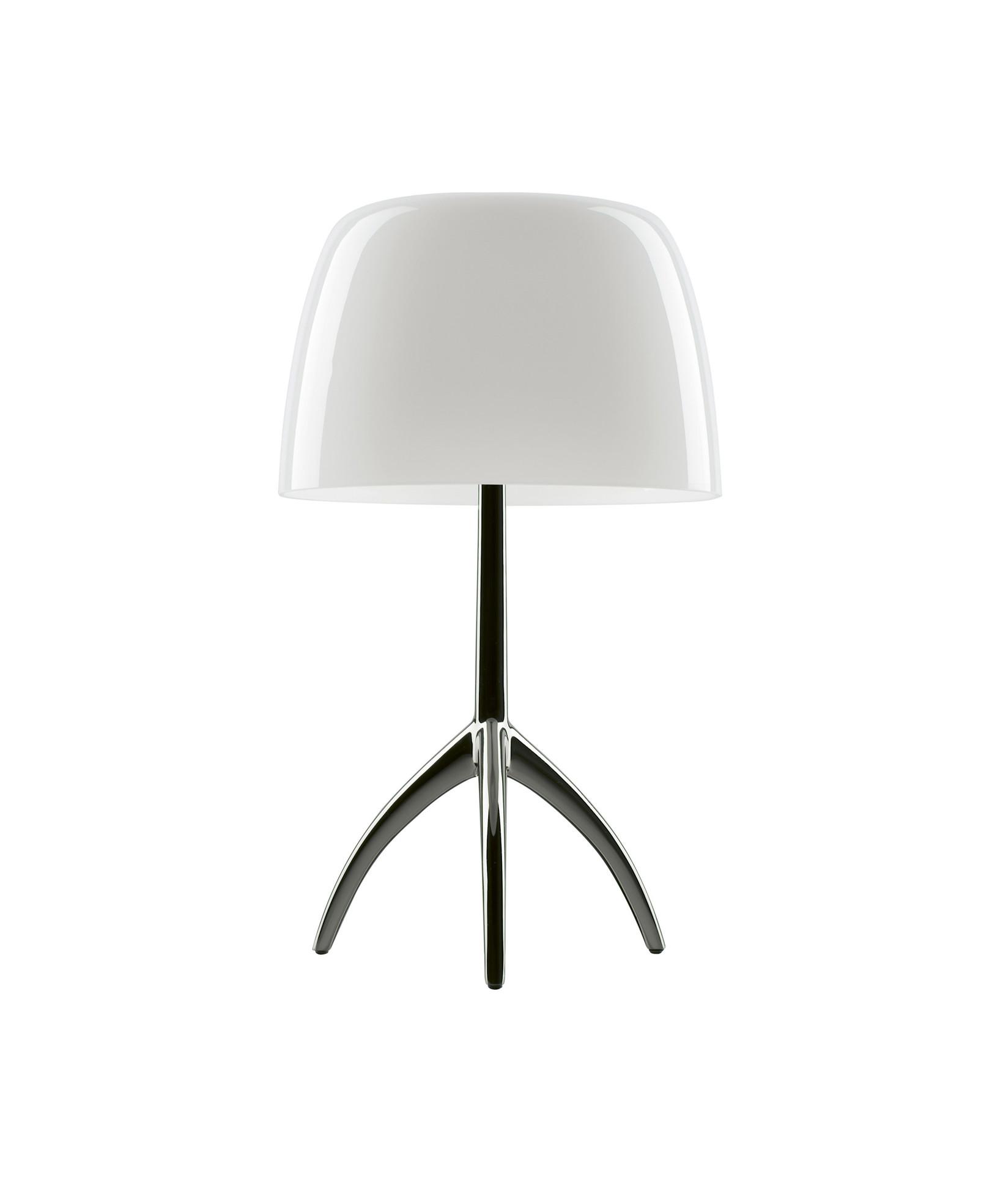 Image of   Lumiere Grande Bordlampe Alu/Hvid - Foscarini
