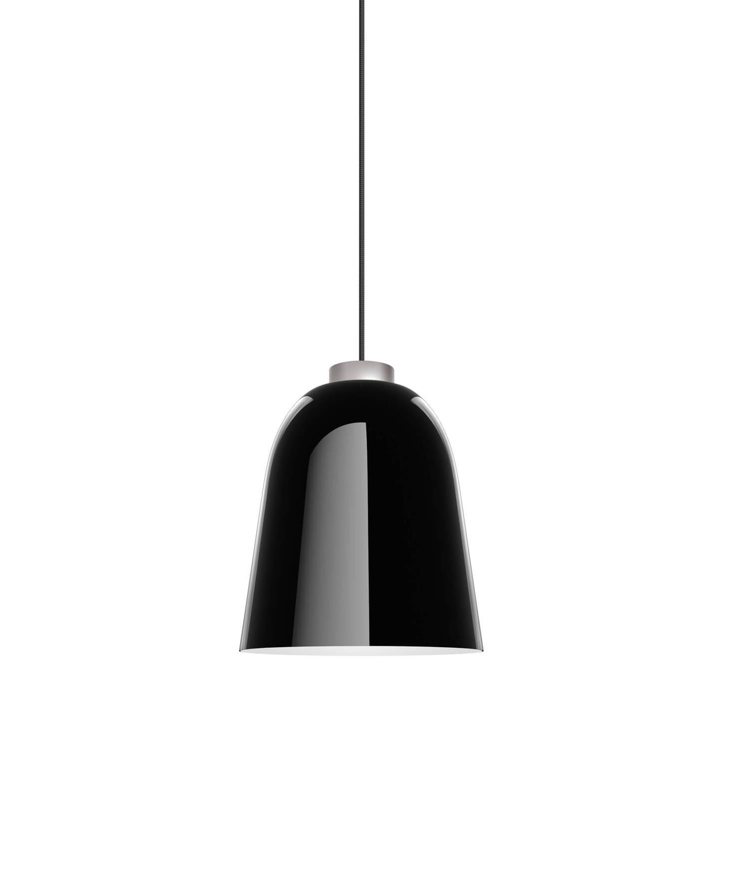 summera pendelleuchte medium gl nzend schwarz silber shapes. Black Bedroom Furniture Sets. Home Design Ideas