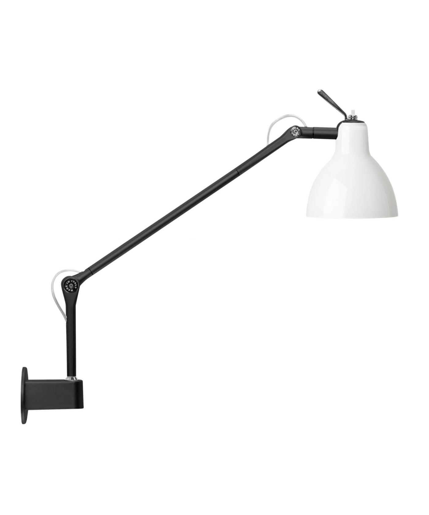 Luxy W1 Væglampe Sort/Blank Hvid - Rotaliana