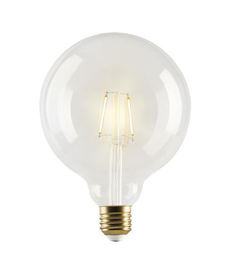 Pære LED 1W Vintage Globe Ø125 E27 - e3light