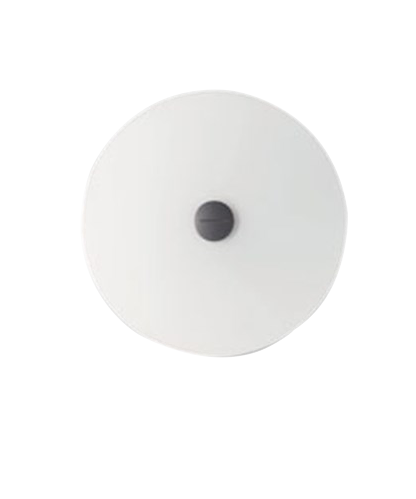 Bit 3/Orbital 3 Glass Skjerm Hvit - Foscarini