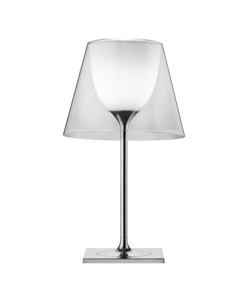 KTribe T1 Bordlampe Glas Transparent - Flos
