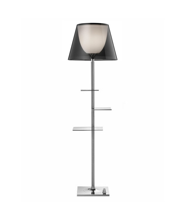 Bibliotheque National Gulvlampe Smoke - Flos