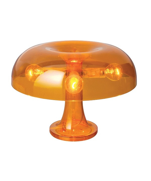 Nessino Bordslampa Transparent Orange - Artemide