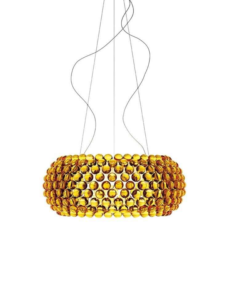 Caboche Grande Taklampa Gul Guld - Foscarini