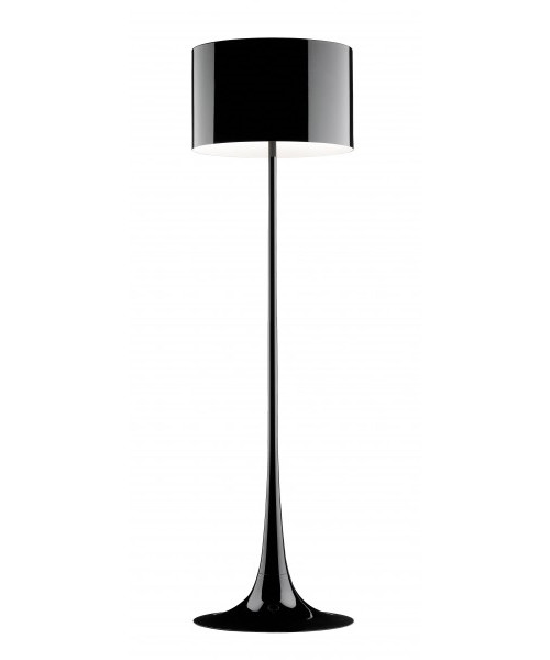Spun Light Gulvlampe Sort - Flos