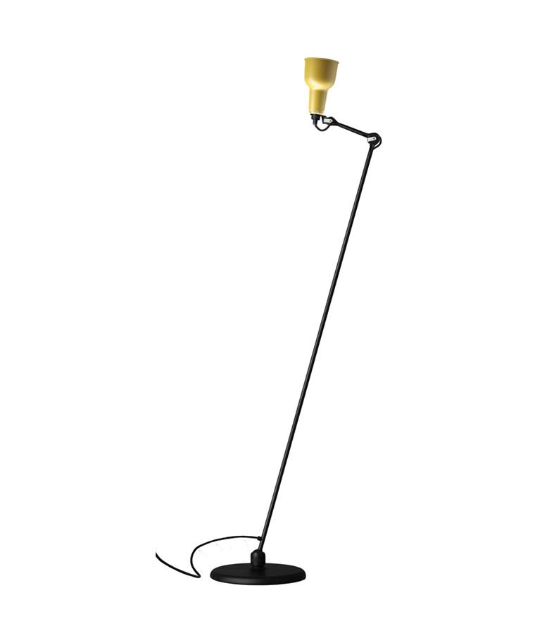 230 Gulvlampa Svart/Gul - Lampe Gras
